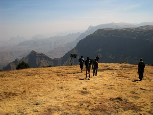 simien hiking